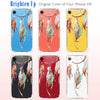 Dream Catcher 3D Color Clear iPhone Case Includes 9H Glass Screen Cover, Protective Case