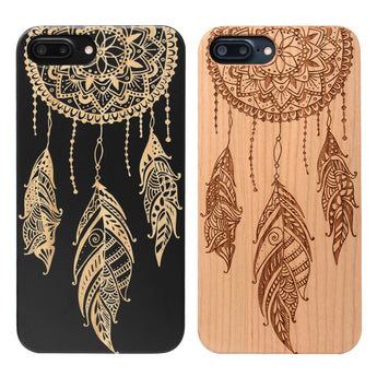 Dream Catcher Wooden Case by iProducts US for iPhone