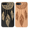 Dream Catcher Wood Case Includes Screen Protector or Magnetic Car Mount for iPhones - iProductsUS