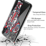 3D Elephant Clear iPhone Case Includes Strong 9H Screen Protector.