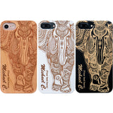 custom Elephant Wood Cases by iProducts US