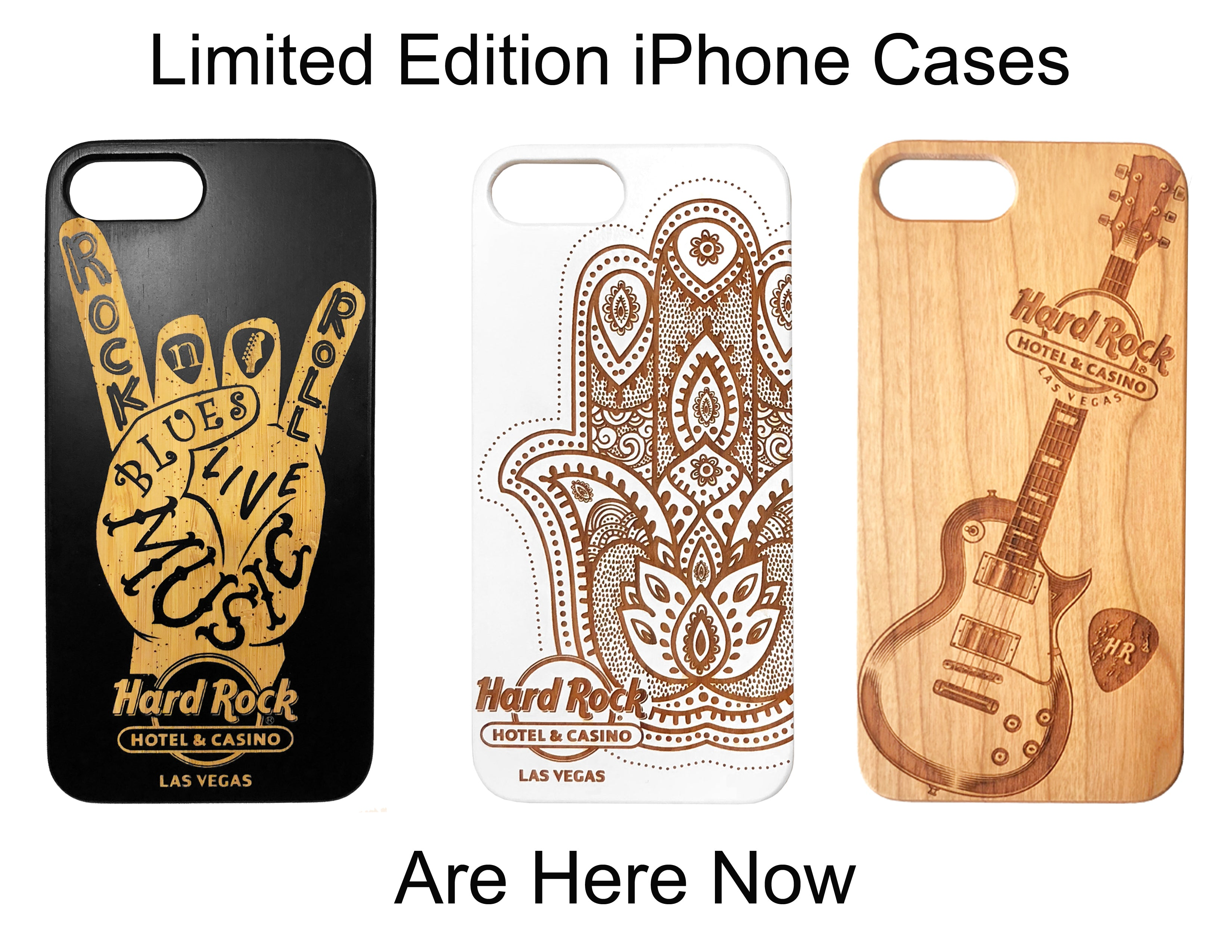 Hard Rock Hotel and Casino Limited Edition Phone Cases for All iPhone - iProductsUS