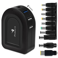Universal Laptop Charger with 6 Ports USB Charging Station for iPhone Android and Multiple Devices - iProductsUS