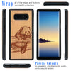 Panda Engraved Personalized Phone Case for Samsung Galaxy Note with Optional Accessories - iProductsUS