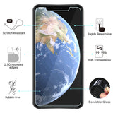 Two Pack 9H Screen Glass Protectors Compatible for iPhons 6,6s,7,8,Plus, X, XS, XS Max, XR