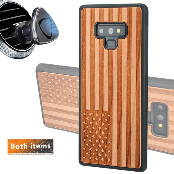 American Flag for Samsung Galaxy Note Cases with Optional Accessories - iProductsUS