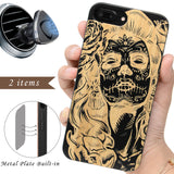 Our Printed Engraved Day of the Dead Lady by iProducts Us