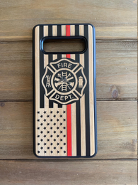 Thin Red Line Maltese Ross Phone Case for Samsung Galaxy Note with Optional Accessories