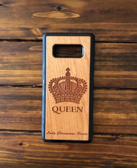 Queen Phone Case for Samsung Galaxy Note with Optional Accessories
