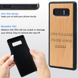 Customize your Samsung Galaxy Case by ENGRAVING or COLOR Printing a Picture, Logo, or something Cool!  Galaxy Note 9 and 8, Galaxy S9+, S9, S8 Edge By iProducts US