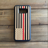 Thin Red Line USA Flag Engraved Phone Case for Samsung Galaxy Note with Optional Accessories - iProductsUS