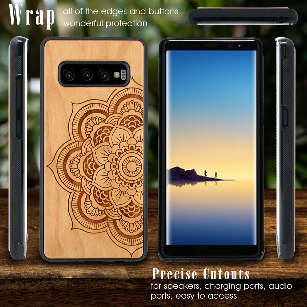 Mandala Personalized Phone Case for Samsung Galaxy Note with Optional Accessories - iProductsUS