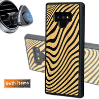 Zebra Geometric Phone Case for Samsung Galaxy Note with Optional Accessories