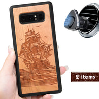 Pirate Ship Personalized Phone Case for Samsung Galaxy Note with Optional Accessories - iProductsUS
