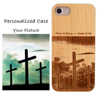 Customized Made Personalized Engraved iPhone Case