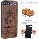 Marines Phone Case by iProducts US for iPhone 8 Plus