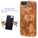 Day of the Dead Skull Lady for iphone by iProducts US