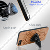 Lion White Wood Phone Case offers Screen Protector or Magnetic Car Mount - iProductsUS