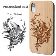 Personalized Phone Case with Picture, Logo, or Artwork Optional Screen Protector or Car Mount