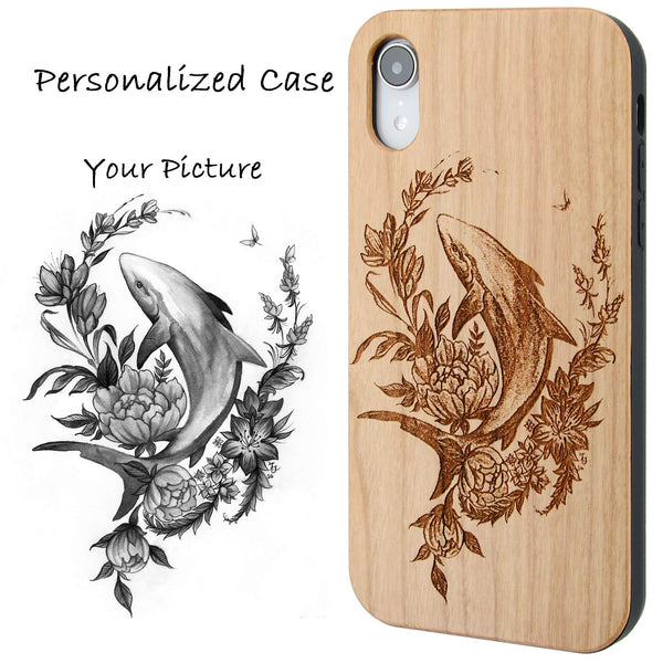 Personalized Phone Case with Picture, Logo, or Artwork Optional Screen Protector or Car Mount - iProductsUS