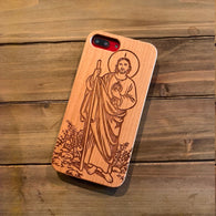 St Jude Wood Phone Case - iProductsUS