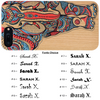 Elephant Color Wood Case with Name - iProductsUS