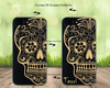 Sugar Skull Phone Case Offers Screen Protector or Magnetic Car Mount - iProductsUS