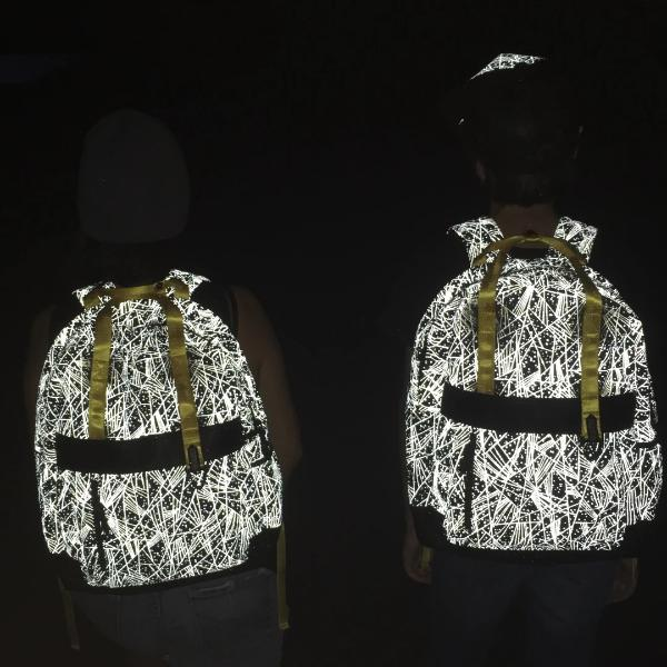 Reflective Backpack Cool Kids by Zapped Outfitters 6