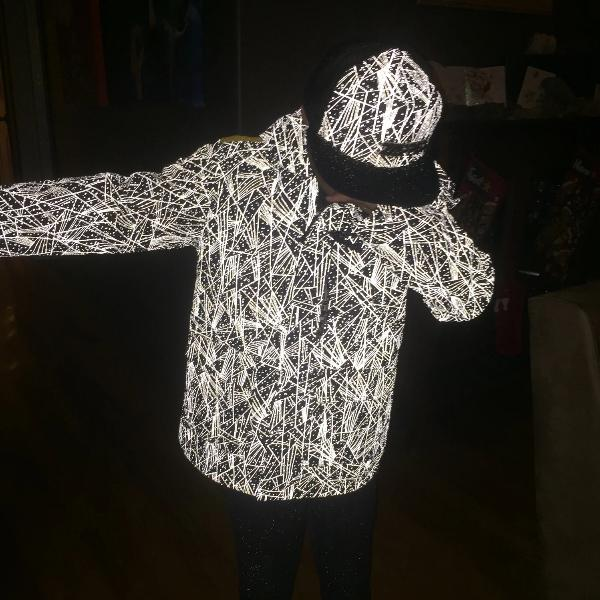 Reflective Kids Jacket by Zapped Outfitters - Reflective Fabric