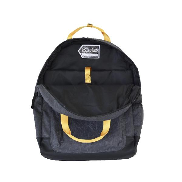 Reflective Kids Backpack by Zapped Outfitters - Inside View