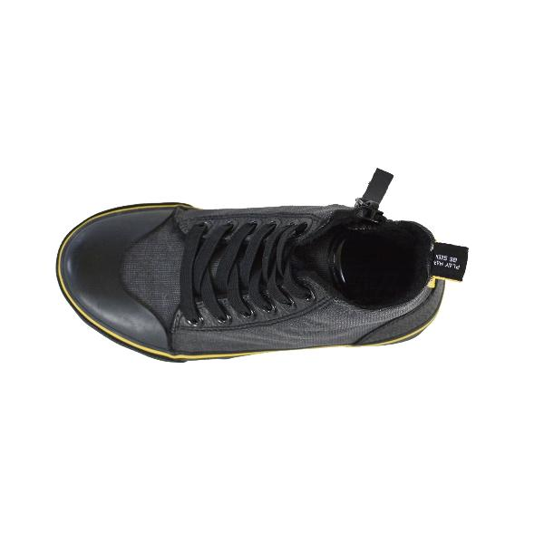 Reflective Kids High Top Shoes by Zapped Outfitters - Top View