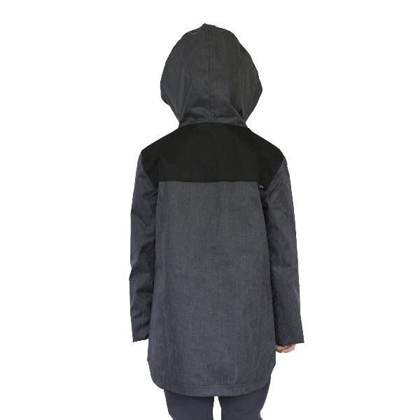 Reflective Kids Jacket by Zapped Outfitters - Back View