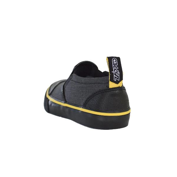 Reflective Kids Slip On Shoes by Zapped Outfitters - Back View