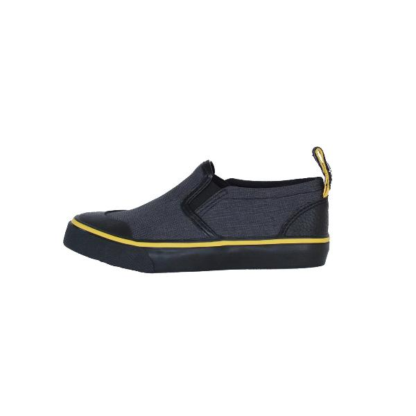 Reflective Kids Slip On Shoes by Zapped Outfitters - Side View 2