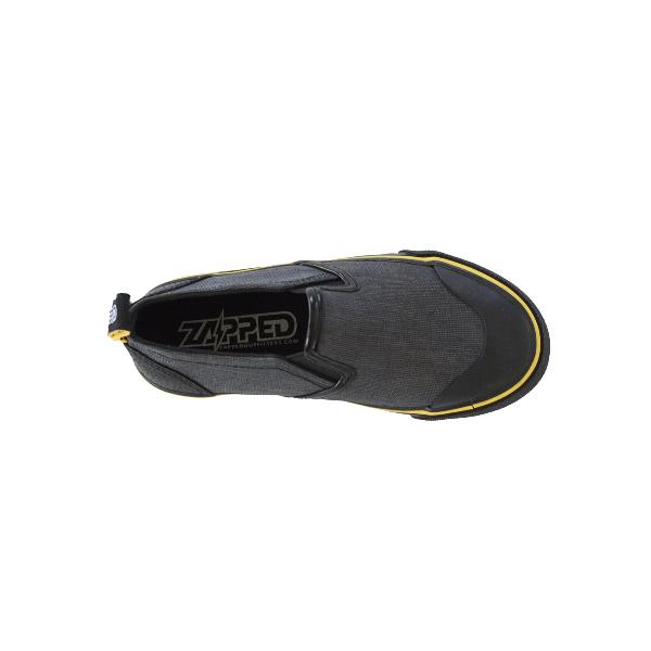 Reflective Kids Slip On Shoes by Zapped Outfitters - Top View