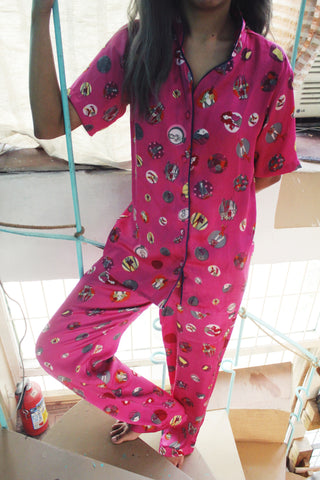Crazy in Pink PJ
