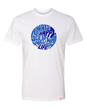 Load image into Gallery viewer, Found My Happy - Happy Life Circle T-Shirt - Found My Happy