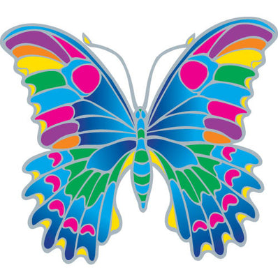 Tropical Butterfly Decal #26