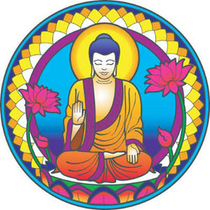 Buddha Nature Decal #13