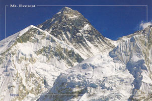 MT. EVEREST POST CARD #6