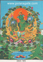 Green Tara Wall Hanging #8