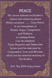 Peace Greeting Card #16