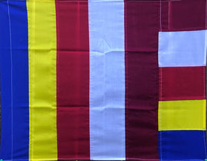 Buddhist Flag Hand Made #3