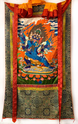 Handmade Silk Wrathful Deity #41