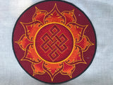 Endless Knot with Lotus Patch