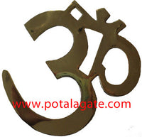 Brass Om for Wall