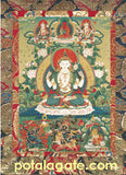 Avalokiteshvara Sacred Art Card #2