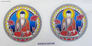 Buddha with Lotus Decal #7