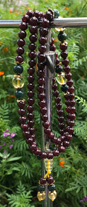 Beautiful Garnet Mala#55
