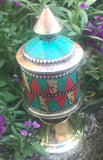 Beautiful Prayer Wheel Small #11